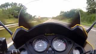 preview picture of video 'Honda CBF 1000 Durchzug im 6.  Gang'