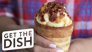 How to Make Disneyland's Magical Mac and Cheese Cones | Get the Dish