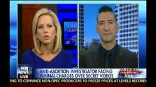 Fox's Shannon Bream Helps CMP's David Daleiden Push Debunked Smears About Planned Parenthood