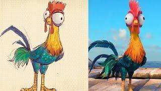 How to Draw Heihei from Disney