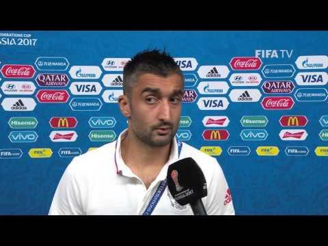 Alexander SAMEDOV Post-Match Interview - Match 9: Mexico v Russia - FIFA Confederations Cup 2017