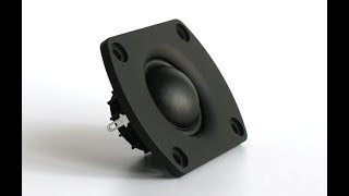 The case against 1 inch dome tweeters