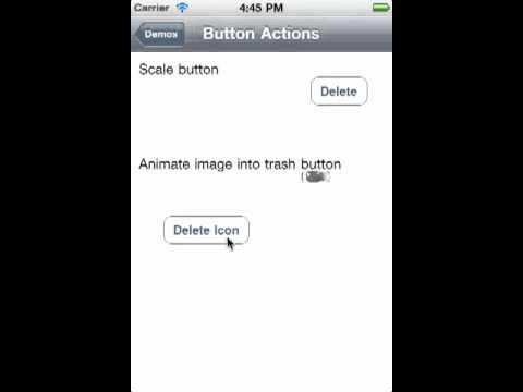 Animating Interfaces with Core Animation: Part 4 - Mobile