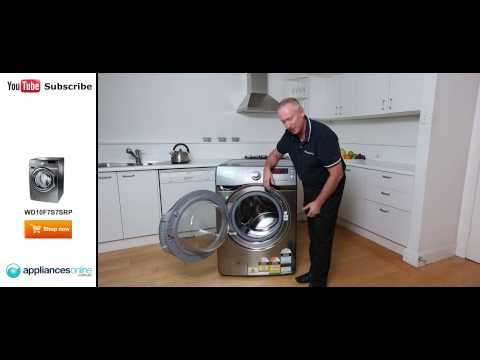 WD10F7S7SRP Samsung Washer Dryer Combo reviewed by expert – Appliances Online