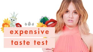 Debby Ryan Wants to Win This So. Bad. | Expensive Taste Test | Cosmopolitan