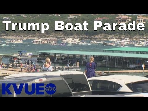 Several boats sink in Central Texas Trump boat parade | KVUE