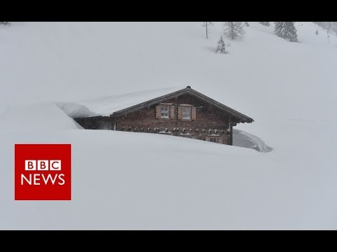 Europe battles worst snowfall in decades - BBC News