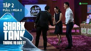 Shark Tank Việt Nam Tập 2 | Startup Nông Sản Hữu Cơ Bất Ngờ Nhận Đầu Tư 10 Tỷ | Mùa 2 [Official]