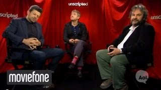 The Hobbit | Unscripted | Andy Serkis, Martin Freeman, Peter Jackson