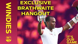 Batting Long, Beating England, and Lockdown! | Kraigg Brathwaite Maroon Hangout | Windies