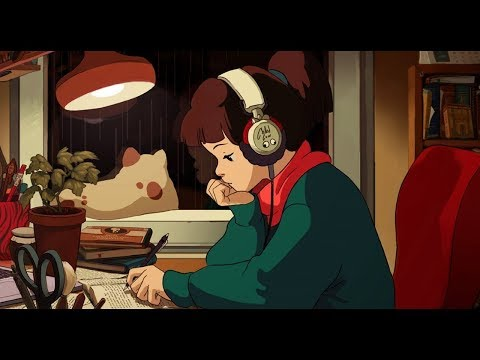 lofi hip hop radio - beats to relax/study to (видео)