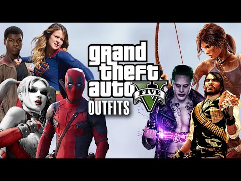 GTA 5 Online - Outfits (BEST Of 2016) Part 1.