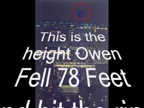 Owen Hart Death Fall Video He was falling to fast for