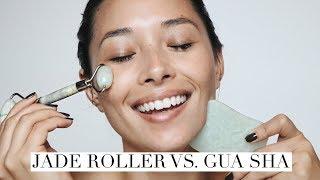 Jade Roller vs. Gua Sha   NO Wrinkles NO Breakouts!   aja dang