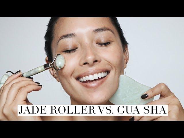 أداة لمساج الوجه JOLSE Premium 2 in 1 Gua Sha Massage Set