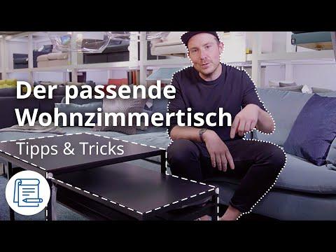 Der perfekte Couchtisch zum Sofa | IKEA Tipps & Tricks