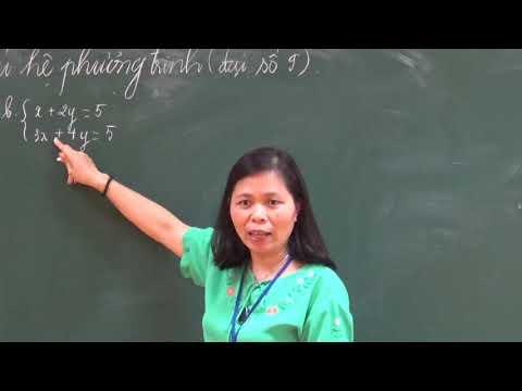 Toán 9: Ôn tập về giải hệ phương trình bậc nhất hai ẩn