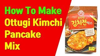 ottogi kimchi pancake mix - TH-Clip