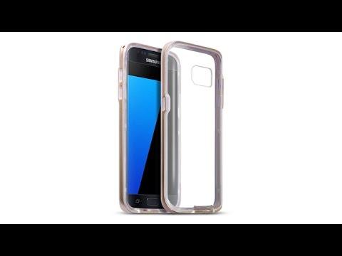 Samsung Galaxy S7 Schutzhülle TPU Hülle + PC Bumper - Gold