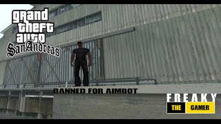 SAMP 0.3.7 Banned for Aimbot from [AG] Community