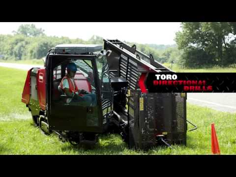 Introducing Toro's New Line of Underground Equipment