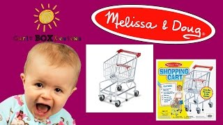 Melissa & Doug - Shopping Cart & Grocery Cans