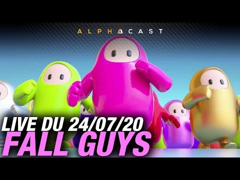 VOD ► Découverte de Fall Guys avec JDG, Eventis & Antoine Daniel ! – Live du 24/07/2020
