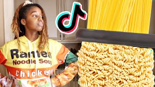 Ramen Noodle Girl Does Instant Viral TikTok Hacks - Onyx Family