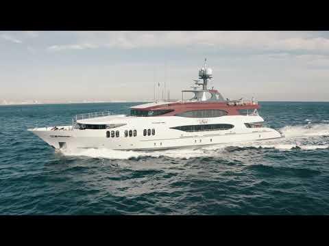 Trinity Yachts 164 Tri-deck Motor Yacht video