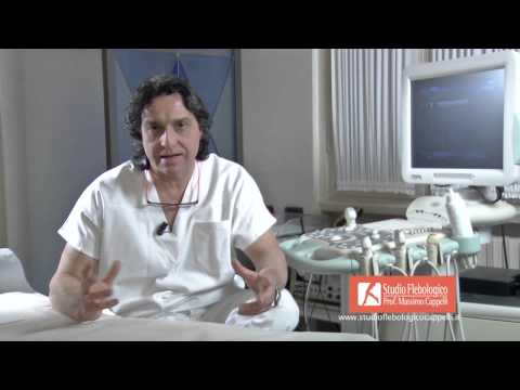 Sintomi thrombophlebitis venosi