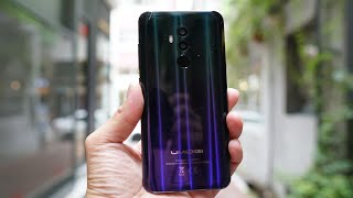 UmiDigi Z2 Unboxing & Hands On: Gradient Glass Back Looking Sweet