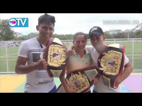 Tres campeones nacionales en boxeo logran Masaya