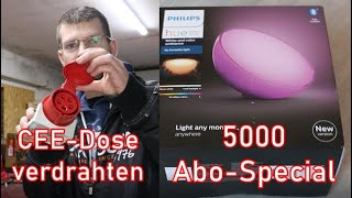 CEE-Dose / Starkstrom anklemmen (5000 Abo-Special)
