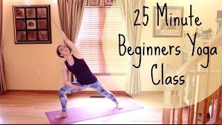 Beginner Yoga - 25 Min Vinyasa Flow Yoga for Beginners - Yoga Workout for Beginners by Christina D'Arrigo Yoga - ChriskaYoga