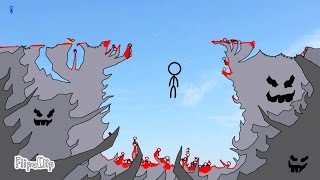 The Cliff 3 - The Final Showdown (FlipaClip animation 72, stick fight, blood warning!)