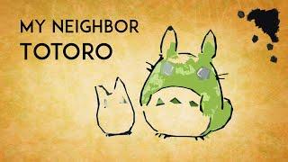 My Neighbor Totoro OST - Beautiful Relaxing Harp Covers 【◈ Studio Ghibli Music Collection ◈】 となりのトトロ