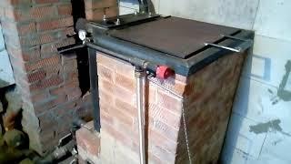 Как сделать печь длительного горения своими руками из кирпича