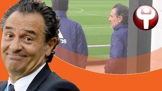 El vídeo del plantón de los jugadores a Prandelli
