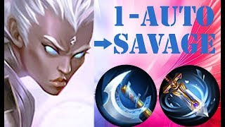 Best Build Karrie 2019 ( SAVAGE ) ~ Mobile Legends: Bang Bang