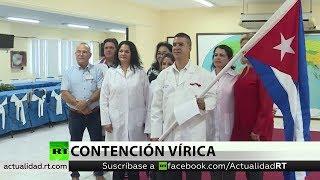 Cuba ayuda a otros países a frenar el covid-19