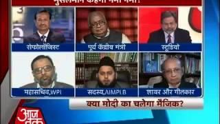 Dus tak debates muslims growing support to Shri Narendra Modi (Aaj Tak 18 Feb 2013)