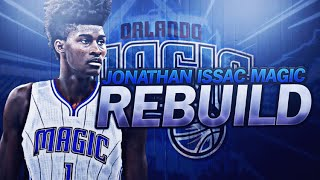 BIGGEST CHOKE EVER!?! JONATHAN ISSAC MAGIC REBUILD! NBA 2K17