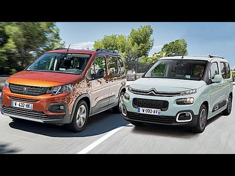 Peugeot  Rifter Минивен класса M - тест-драйв 7