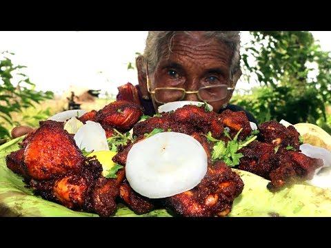 Chicken Lollipop Recipe |  Tasty Chicken Drumstics By Granny Mastanamma