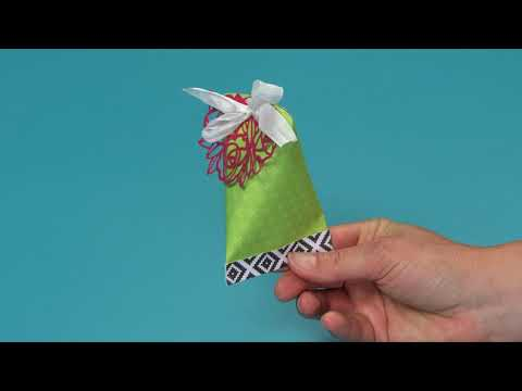 How To Make This DIY Treat Pouch! | Sizzix