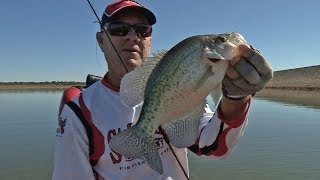 Southwest Outdoors Report #34 Lake Proctor, Texas Crappie Fishing - 2013