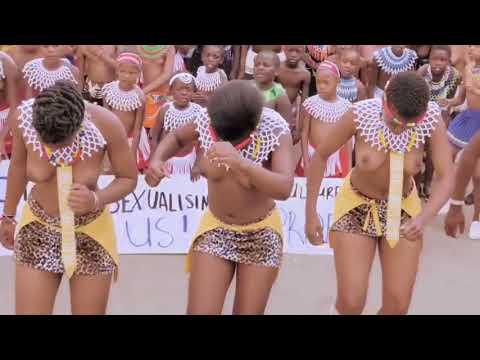 Portrait of Umhlanga Reed Dance Ceremony