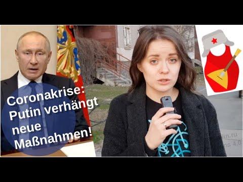 Coronakrise: Putin verhängt neue Maßnahmen [Video]