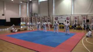 preview picture of video 'Ariel Cup 2010, Shinkyokushinkai Israel - Demonstration'