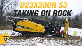 D23x30DR S3 Horizontal Directional Drill in Action